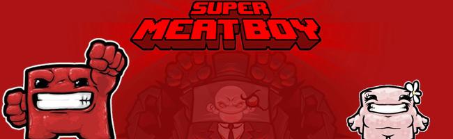 Super Meat Boy, du sang te la bidoche fraîche sur Wii