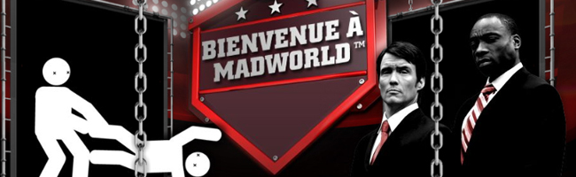 Madworld TV mini jeux