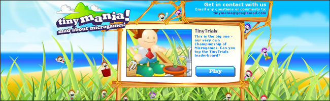 Tiny trials de Tiny mania