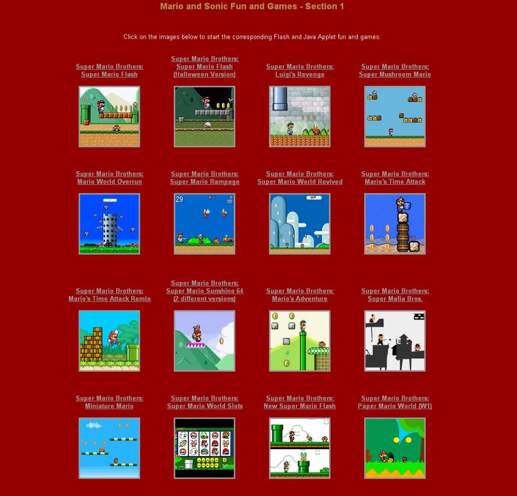 MarioSonicGames.com